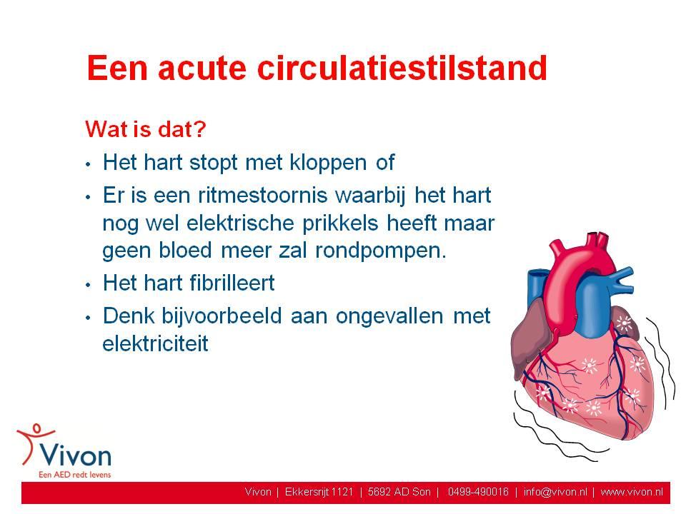 wat gebeurt er bij een hartinfarct